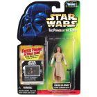 Power of the Force 2 Freeze Frame Card Princess Leia (Ewok Celebration)