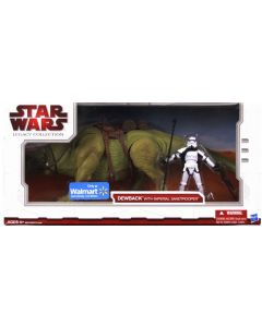 2009 Legacy Collection Battle Pack Boxed Dewback with Imperial Sandtrooper C-9