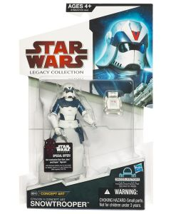 2009 Legacy Collection Carded Snowtrooper (Concept Art Series) C-8/9