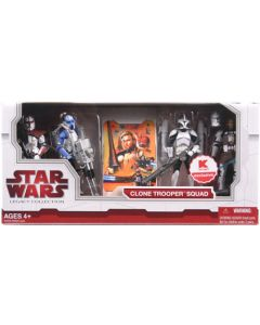 2009 Legacy Collection Exclusive Boxed Clone Trooper Squad C-9