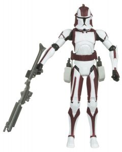 "Clone Wars Commander Stone 3.75"" Action Figures"