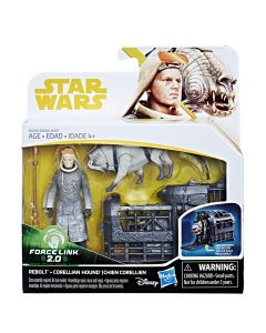 Star Wars Force Link 2.0 Rebolt And Corellian Hound 3 3/4-Inch Action Figure 2-Pack