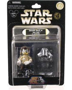 2010 Legacy Collection Exclusive Carded  Donald Duck as Han Solo in Carbonite