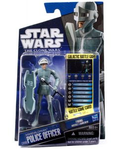 2010 Clone Wars Carded Mandalorian Police Officer