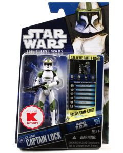 2010 Clone Wars Exclusive Carded Captain Lock