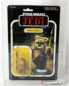 1984 Vintage Kenner Star Wars ROTJ 77 Back-A Wicket W. Warrick // AFA 80 Y-NM #11643653
