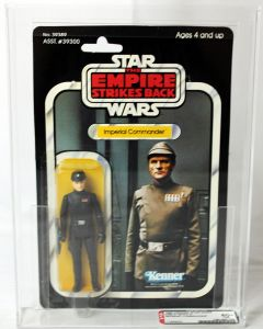 1980 Kenner Star Wars ESB 41 Back-C Imperial Commander AFA 80+ NM #11659022