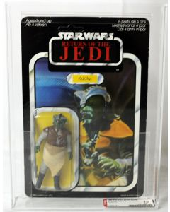 Vintage Star Wars Carded ROTJ 65 Back-A Klaatu Action Figure AFA 70 EX+ #11907643