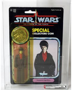 1985 Kenner Star Wars POTF 92 Back Imperial Dignitary // AFA 80 Y-NM #12101866