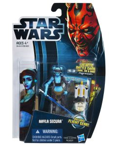 2012 Clone Wars Carded Aayla Secura