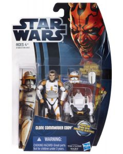 2012 Clone Wars  Carded Commander Cody C-9