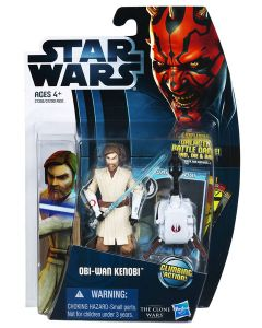 2012 Clone Wars Carded Obi-Wan Kenobi (Season 4)