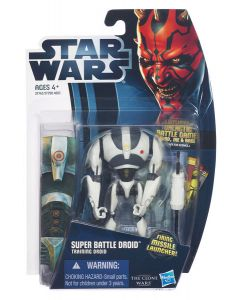 2012 Clone Wars Carded Super Battle Droid