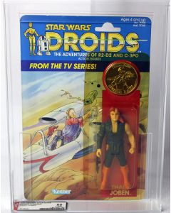 Vintage Kenner Droids TV Series Thall Joben AFA 85 Y-NM+ #16535541