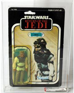 1984 Vintage Kenner Carded Star Wars ROTJ 77 Back-A Nikto AFA 70 Y-EX+ #18423867