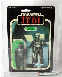1983 Vintage Kenner Star Wars ROTJ 65 Back-B Zuckuss AFA 75 EX+/NM #19356196