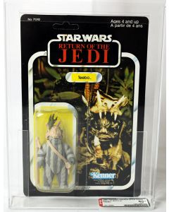 1984 Kenner Star Wars Canada Carded ROTJ 77 Back-A Teebo Action Figure AFA 80+ NM #19713994