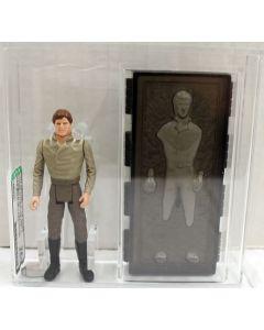 1984 Star Wars POTF Loose Han Solo (in Carbonite) AFA 75+ EX+/NM // 19854231