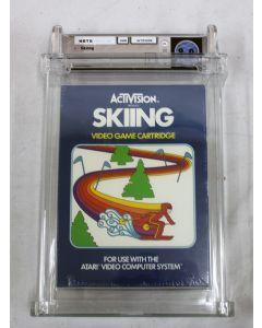 Activision Skiing - Wata 9.0 A+ Sealed (1981 Blue Box), Atari 2600