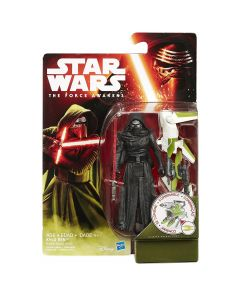 """Star Wars The Force Awakens 3.75"""" Carded Kylo Ren (Forest Mission)"""
