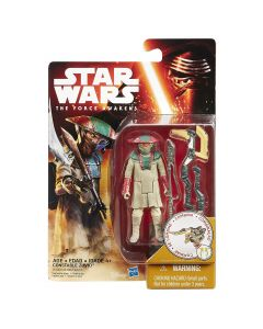 """Star Wars The Force Awakens 3.75"""" Carded Constable Zuvio"""