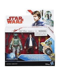 "Star Wars The Last Jedi 3.75"" Action Figure 2-Pack Han Solo & Boba Fett"