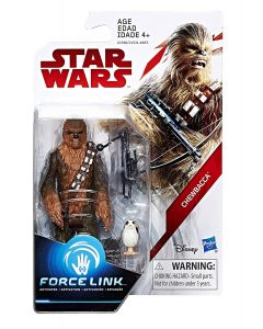 "Star Wars The Last Jedi 3.75"" Carded Chewbacca"