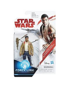 "Star Wars The Last Jedi 3.75"" Carded Finn (Resistance Fighter)"
