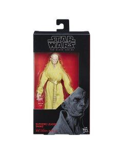 Star Wars Black Series The Last Jedi Boxed 6 Inch Supreme Leader Snoke
