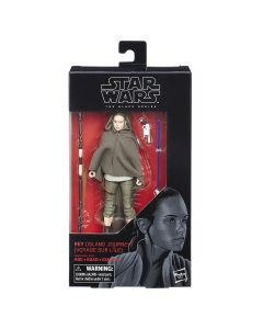 Star Wars Black Series The Last Jedi Boxed 6 Inch Rey (Journey Island)