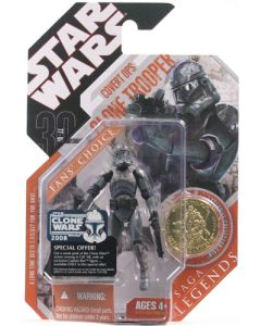 2008 Saga Legends Carded Covert Ops Clone Trooper (Special Offer)