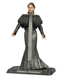 2008 Carded Padme Amidala with Black Leather Outfit (Reissue) C-9
