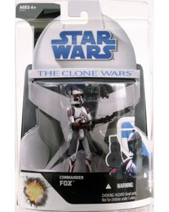 2008 Clone Wars Exclusives Carded Commander Fox C-9