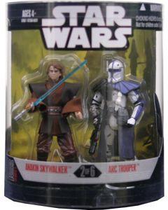 2008 Order 66 Boxed Anakin Skywalker & ARC Trooper