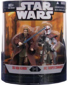 2008 Order 66 Boxed Obi-Wan Kenobi & ARC Trooper Commander