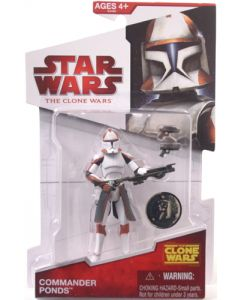 2009 Clone Wars Exclusive Carded Commander Ponds