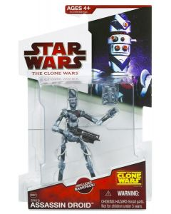 2009 Clone Wars Carded Ziro's Assassin Droid