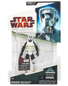 2009 Legacy Collection Carded Biker Scout Trooper C-8/9