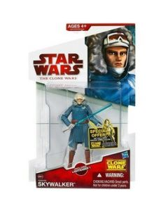 2010 Clone Wars Carded Anakin Skywalker (Cold Weather Gear)
