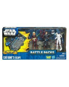 2011 Clone Wars Battle Pack Boxed Cad Bane's Escape C-9