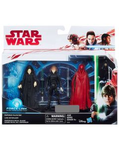 "Star Wars Force Link 3.75""  Return of the Jedi Battle 3-Pk Target Exclusive"