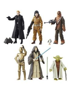 "Star Wars The Last Jedi Teal 3.75"" Action Figures Wave 2 (Set of 6)"