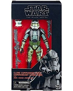 Star Wars Black Series The Force Awakens Boxed 6 Inch Clone Commander Gree