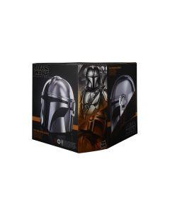 Star Wars The Black Series The Mandalorian Premium Electronic Helmet Prop Replica -