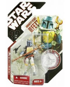 30th Anniversary Carded Boba Fett Holiday Special (Animated)