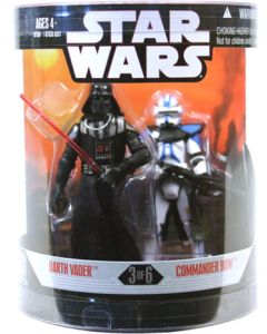 30th Anniversary Order 66 Boxed Darth Vader & Commander Bow