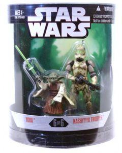 30th Anniversary Order 66 Boxed Yoda & Kashyyyk Trooper