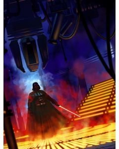 """Licensed Artwork """"Lurking Lineage"""" - Lithograph - (by Jeremy Saliba)"""