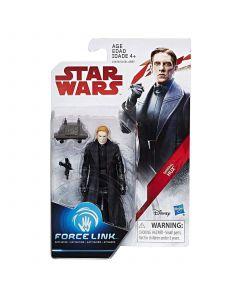 """Star Wars The Last Jedi 3.75"""" Carded General Hux"""