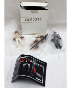 Vintage Star Wars ROTJ 3-Pack Kenner Mailer 48-62373 Admiral Ackbar, Leia Boushh,  General Madine // C8.5 w/ C8 Box (Opened Ackbar)